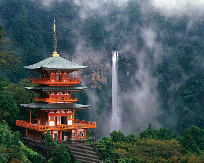 03 Nachi Waterfall and Seiganto-ji Temple